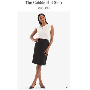 MM. LAFLEUR The Cobble Hill Skirt in Black